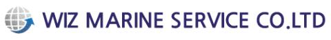 WIZ MARINE SERVICE  로고