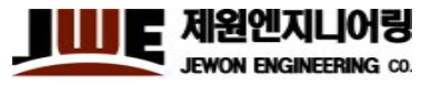 JEWON ENGINEERING CO.  로고