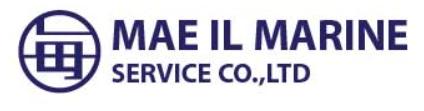 MAEIL MARINE SERVICE CO.,LTD.  로고