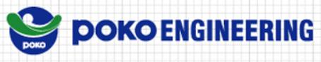 POKO ENGINEERING CO.,LTD.  로고