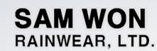 SAMWON RAINWEAR, LTD.  로고